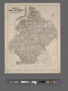 Brooklyn - Liberty Loan Committee - division of districts.