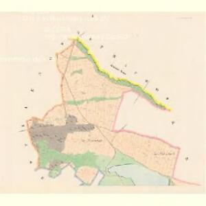 Smrkowetz (Smrkowec) - c7091-1-001 - Kaiserpflichtexemplar der Landkarten des stabilen Katasters