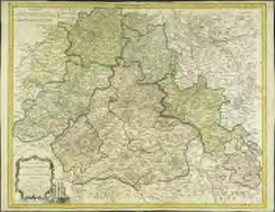 Carte de la généralite d'Orleans