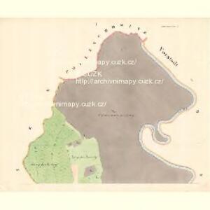 Ostra - m3198-1-001 - Kaiserpflichtexemplar der Landkarten des stabilen Katasters