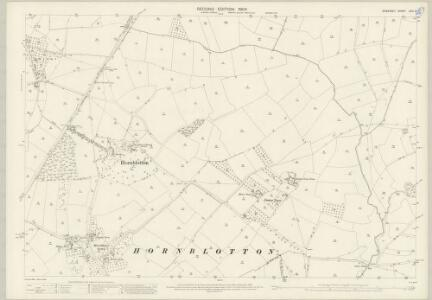 Somerset LXIV.3 (includes: Ditcheat; East Pennard; Lydford; West Bradley) - 25 Inch Map