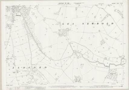 Cheshire XLVI.16 (includes: Aldford; Churton Heath; Coddington; Handley; Lea Newbold) - 25 Inch Map