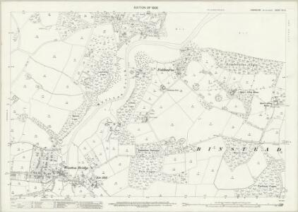 Hampshire and Isle of Wight XC.12 (includes: Newport; Ryde) - 25 Inch Map