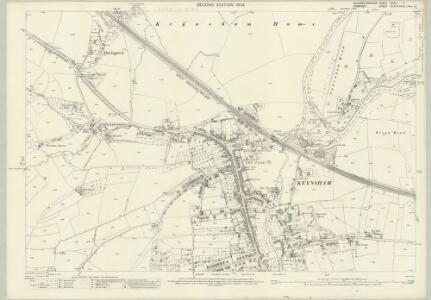 Gloucestershire LXXVI.11 (includes: Bitton; Keynsham) - 25 Inch Map