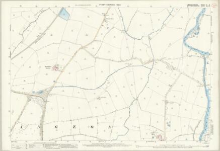 Leicestershire V.14 (includes: Kegworth; Lockington Hemington; Ratcliffe on Soar) - 25 Inch Map