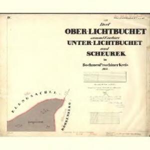 Lichtbuchet Ober - c2161-1-005 - Kaiserpflichtexemplar der Landkarten des stabilen Katasters