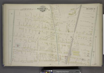 Parts of the City Auburn. Wards 4&5.