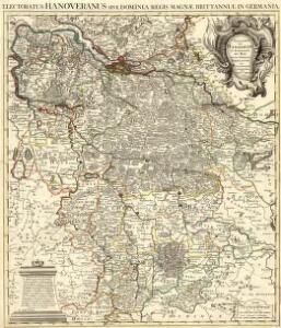 Electoratus Hanoveranus sive Dominia Regis Magnae Brittanniae in Germania