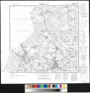 Meßtischblatt 2644/2645, [neue Nr. 4602/4603] : Kaldenkirchen, 1936