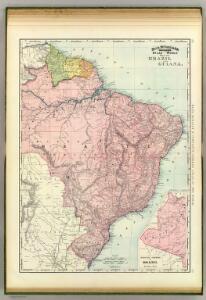 Brazil, Guiana.