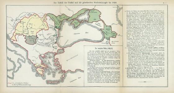 Nr. 8. Der Verfall der Türkei und die griechischen Freiheitskämpfe bis 1829