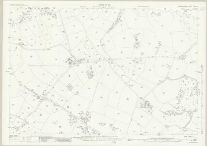 Staffordshire XXIX.14 (includes: Eccleshall) - 25 Inch Map