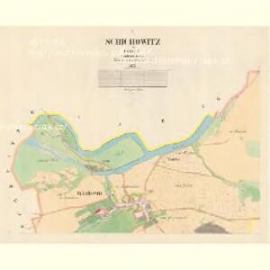 Schichowitz - c9438-1-001 - Kaiserpflichtexemplar der Landkarten des stabilen Katasters