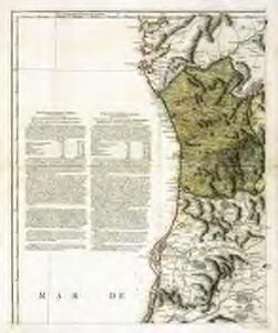 Mappa ou carta geographica dos reinos de Portugal e Algarve, 1