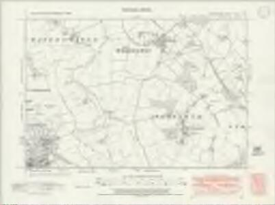 Oxfordshire XXXIII.NE - OS Six-Inch Map