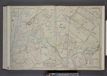 Part of Wards 3, 4, & 5. [Map bound by Cannon Ave,    Burying Hill Road, Richmond Turnpike, Union Ave, Old Stone Road, Rockland Ave,   Forest Hill Road, Fresh Kills Road, State Line; Lots at Linoleumville - Richmond Turnpike, Feldmeyer Lane]