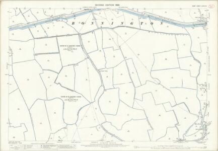 Kent LXXIII.15 (includes: Bilsington; Bonnington; Newchurch) - 25 Inch Map