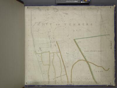 Bronx, Topographical Map Sheet 1; [Map bounded by Morris St., Livingstone Ave., Hamilton Ave., Broadway, Highland Ave., Park Hill Ave., Tibbet's Brook; Including Lawrence St., New York Boston Railroad, Mosholu Ave., Old Post Road, Riverdale, Bettners ...