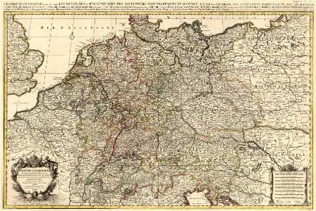 L'Empire d'Allemagne distingué suivant l'étendüe de tous les Estats, Principautés et Souverainetés qui passent ou qui ont passé jusque a present sous le nom d'Allemagne