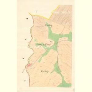 Mutienitz - m1904-1-005 - Kaiserpflichtexemplar der Landkarten des stabilen Katasters