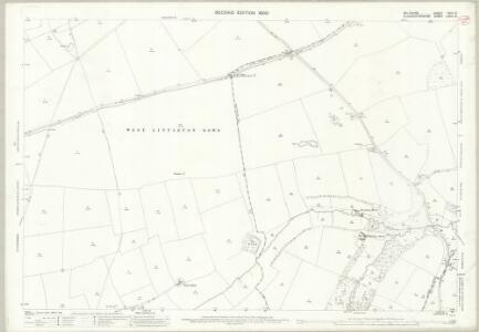 Wiltshire XVIII.8 (includes: Marshfield; Nettleton; Tormarton) - 25 Inch Map
