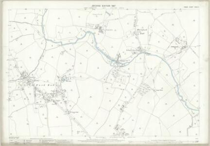 Essex (1st Ed/Rev 1862-96) XXXIII.11 (includes: Felsted; Great Waltham) - 25 Inch Map
