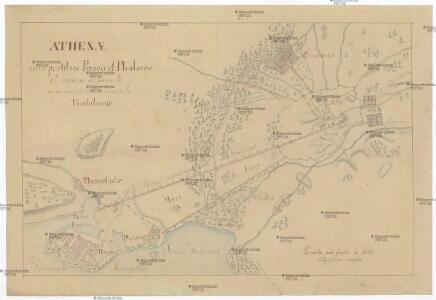 Athenae cum portibus Piraeo et Phalereo et regione adjacente in usum scholarum descripta