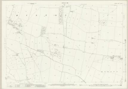 Durham XLVIII.5 (includes: Bolam; Hilton; Ingleton; Morton Tinmouth; Wackerfield) - 25 Inch Map
