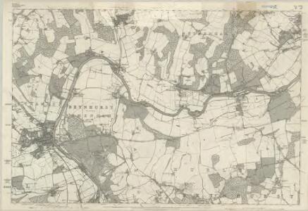 Berkshire XXII - OS Six-Inch Map
