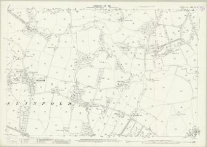 Sussex XIII.6 (includes: Slinfold) - 25 Inch Map