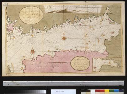 Afteekening van t agterste gedeelte van de Oost Zee van t eijlant Dago tot Schansternij