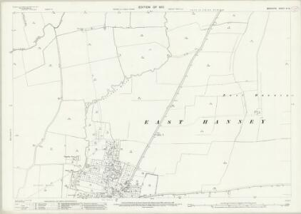 Berkshire IX.15 (includes: East Hanney; Garford; West Hanney) - 25 Inch Map