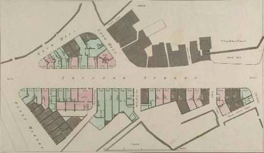 Plan of the improvements at Snowhill