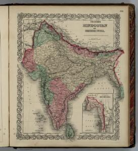 Hindoostan or British India.