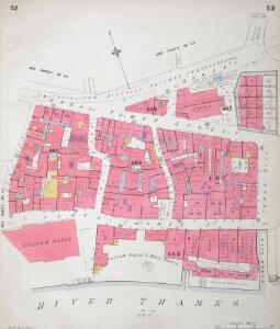 Insurance Plan of City of London Vol. III: sheet 52