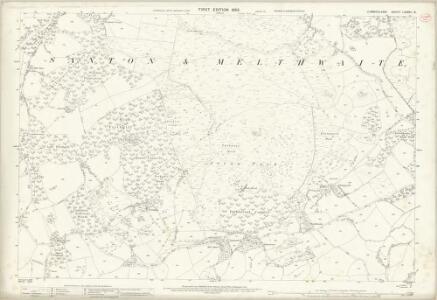 Cumberland LXXVIII.16 (includes: Irton) - 25 Inch Map