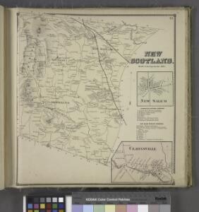 New Scotland. [Township]; New Salem [Village]; Clarksville Business Directory.; New Salem Business Directory.; Clarksville [Village]