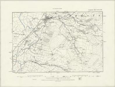 Cardiganshire XXVII.SE - OS Six-Inch Map
