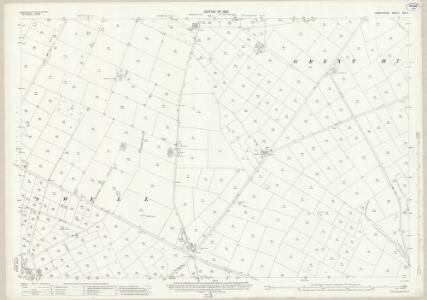 Derbyshire XVI.5 (includes: Great Hucklow; Little Hucklow; Litton; Tideswell; Wheston) - 25 Inch Map