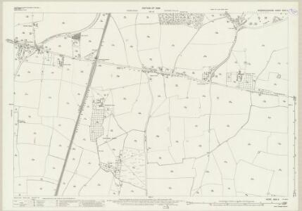 Worcestershire XXIX.3 (includes: Hadzor; Hanbury) - 25 Inch Map