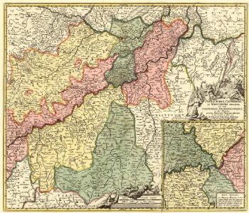 Juliacensis, Cliviensis, Et Montensis Ducatus, nec non Coloniensis Archiepiscopatus, et aliae Regiones proxime Rhenum Fluvium adjacentes