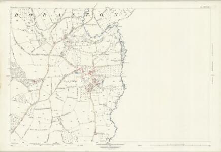Shropshire LXXXIII.4 (includes: Boraston; Burford; Kington On Teme) - 25 Inch Map