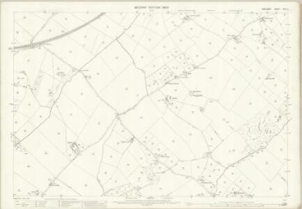 Anglesey XXII.4 (includes: Llanddaniel Fab; Llangaffo; Llanidan) - 25 Inch Map
