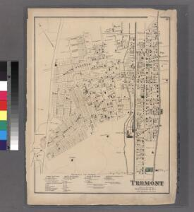 Plate 16: Tremont, Town of West Farms, Westchester Co. N.Y.