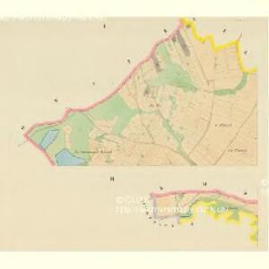 Malletitz (Maletice) - c4416-1-001 - Kaiserpflichtexemplar der Landkarten des stabilen Katasters
