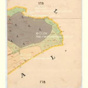 Liebesdorf - c1905-1-012 - Kaiserpflichtexemplar der Landkarten des stabilen Katasters