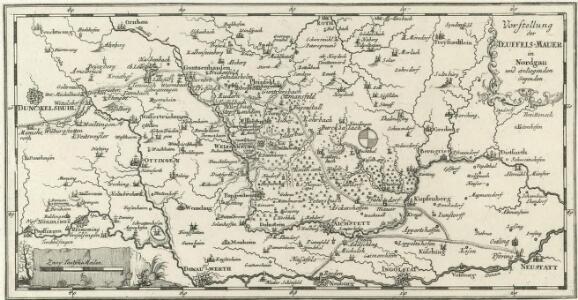 Vorstellung der Teuffels-Mauer in Nordgau und anliegenden Gegenden