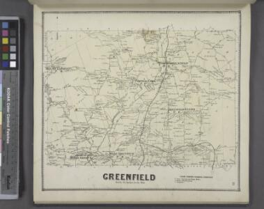 Greenfield [Township]; Pages Corners Business Directory.
