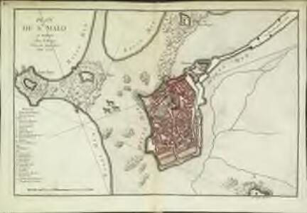 Plan de St. Malo
