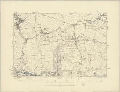 Derbyshire XV.NE - OS Six-Inch Map
